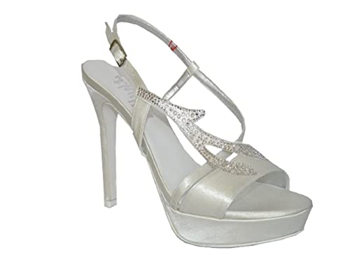 Melluso Borse In Th420Amazon Sandalo itScarpe Thulle Sposa E mn08wN
