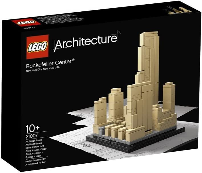 NEW LEGO Architecture Rockefeller Center 21007 Contruction Model