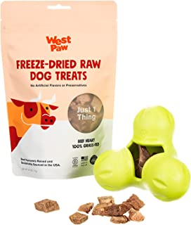 product image for WEST PAW Zogoflex Tux Treat Dispensing Dog Chew Toy – Interactive Chewing Toys for Dogs – Dog Games for Aggressive Chewers, Fetch, Catch – Holds Kibble, Treats, Made in USA