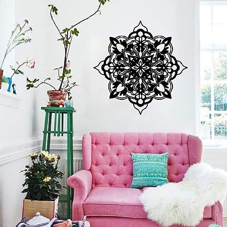 lyclff Apliques de Pared de Flores de Yoga Mural Decorativo ...
