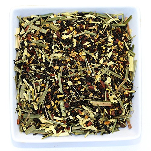 Tealyra - Thai Chai - Ginger Coconut and Lemongrass with Black Loose Leaf Tea - Exotic Unique Blend - Caffeine Medium - All Natural Ingredients - 110g (4-ounce) by Tealyra