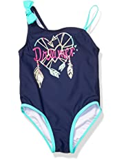 acf529428143f Jessica Simpson Girls' One-Piece Swimsuit Bathing Suit