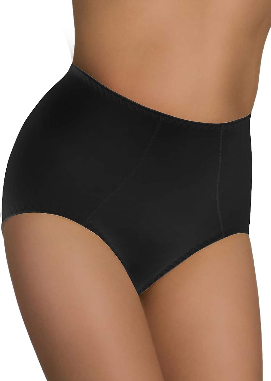 Damen Figurenformend Miederslip mit Bauch-Weg-Effekt Stark Formend Miederpants Miederslip Push up Unterhose Damen