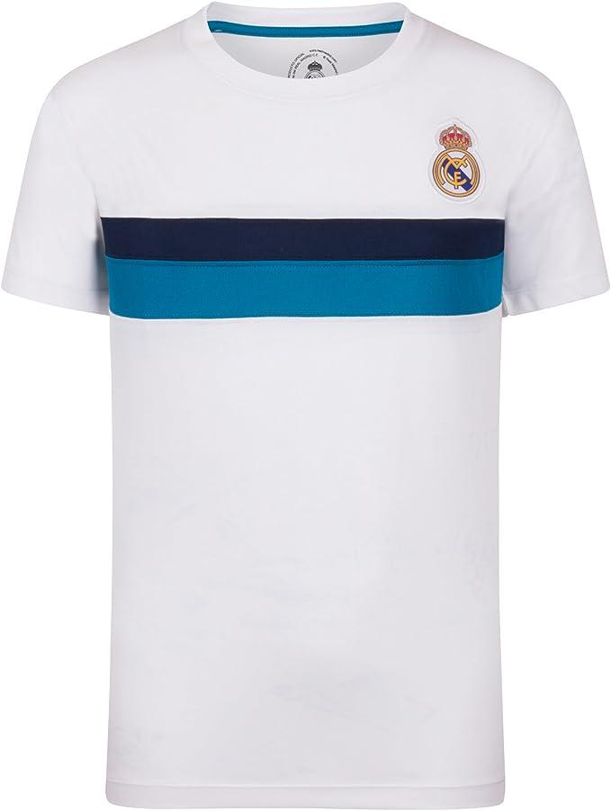 Real Madrid Camiseta Oficial Para Entrenamiento - Para Niño ...