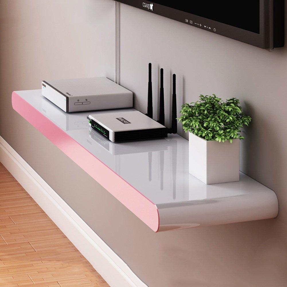 LIANGJUN 壁掛け棚 木製 リビングルーム 背景壁、 使用可能な9種類 ( 色 : 90X20cm-pink ) B07BHN4G6M 22630 90X20cm-pink 90X20cmpink