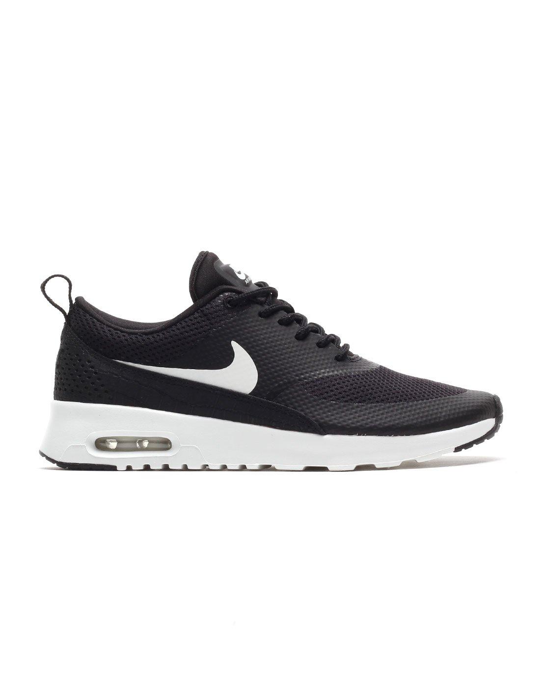 Nike Women's Air Max Thea Black/Summit White Running Shoe 6.5 Women US