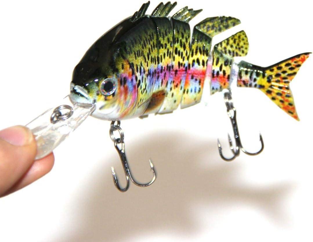 1pc Multi Jointed Fishing Lures Wobblers Sinking Swimbait Crankbait Hard Bait