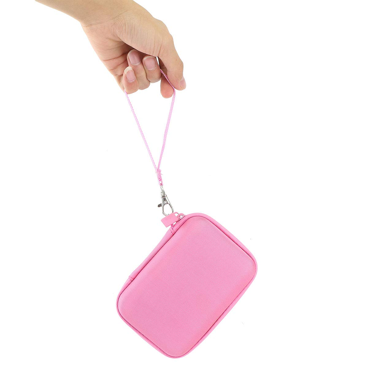 co2CREA Duro Viaje Estuche Bolso Funda para FUJIFILM Instax Mini Link Portable Bluetooth Wireless Smartphone Printer Rosa//Gris