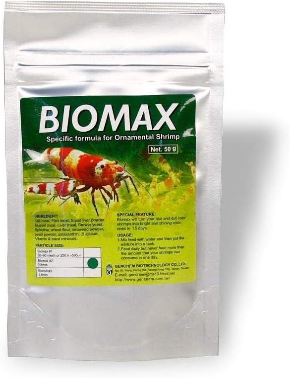 Genchem Biomax #2 50g Shrimp Food