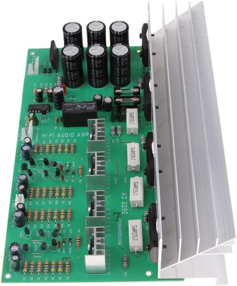 F Fityle Reemplazos Módulo Tablero Amplificador de Audio Subwoofer de Alta Fidelidad Dual Canal 2X 150W - B