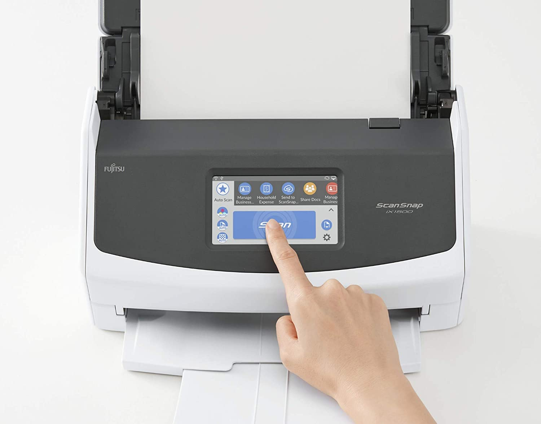 Fujitsu Scansnap IX 1500, Escáner de documentos: Fujitsu: Amazon ...