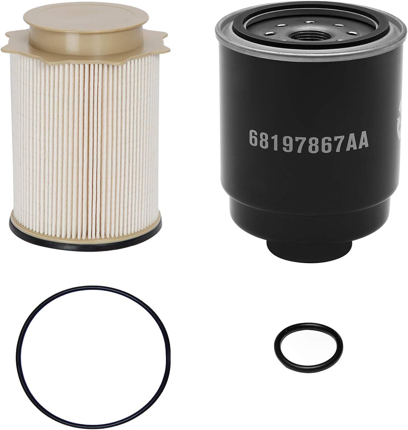 6.7L Cummins Fuel Filter Water Separator Set