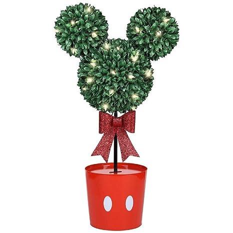 Christmas Topiary.Amazon Com Gemmy Disney Mickey Mouse Led Topiary Tree