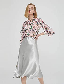 DSKILT Faldas para Mujer Boho/Sophisticated A Line - Cordón de ...