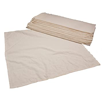 Amazon.com   OsoCozy - Organic Flat Cloth Diapers (Dozen) - 27 x ... 59cab52e4c779