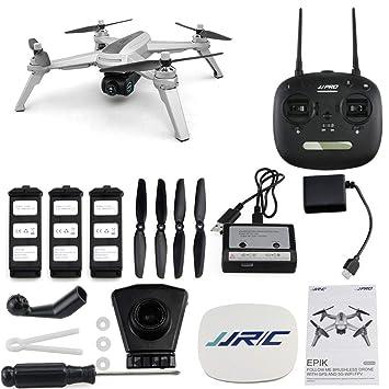 Xlq Drone pequeño, posicionamiento GPS 2K sin escobillas HD ...