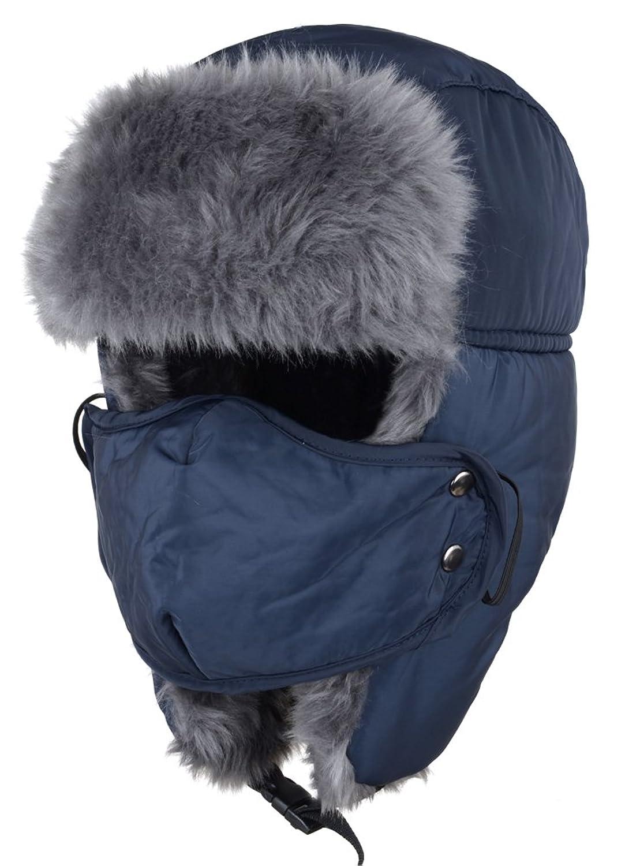 Mirah June Unisex Nylon Russian Style Winter Ear Flap Hat