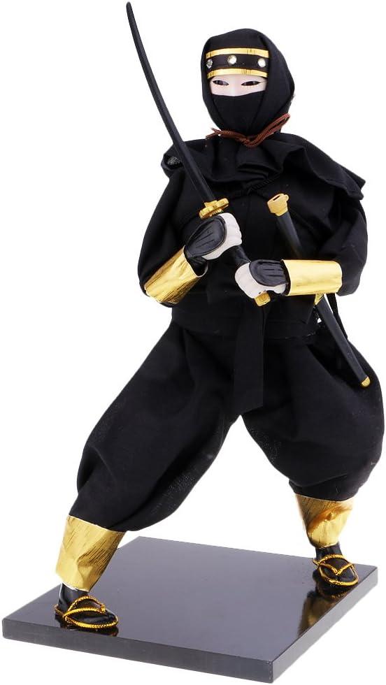 Amazon.com: D DOLITY Japanese Warrior Doll Japanese Ninja ...
