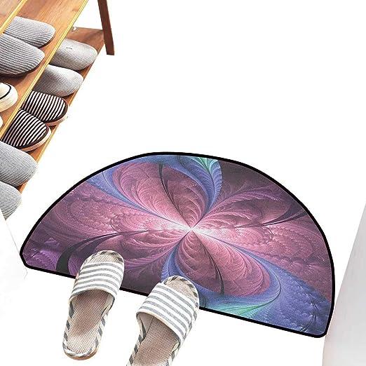 Axbkl - Felpudo para Puerta, diseño de Mandala y Mariposas: Amazon ...