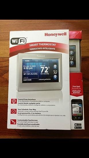 Honeywell RTH9580WF - Termostato inteligente Wi-Fi: Amazon ...