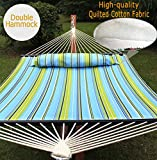 ZENY New Portable Cotton Hammock Quilted Fabric
