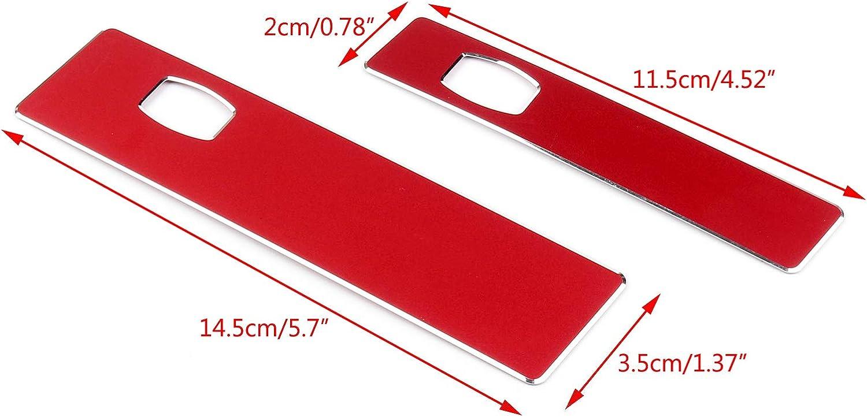 Areyourshop Consola Co-piloto Soporte de taza de agua calcoman/ía cubierta para 5 series E60 06-10