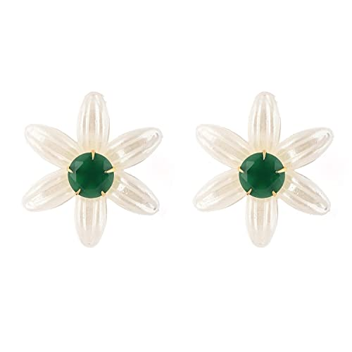26a892f39 Image Unavailable. Image not available for. Color: BeYou 3 Colour  Changeable Flower Stud Earring
