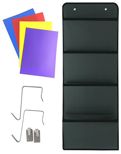 Merveilleux Premium Quality Hanging Wall Organizer, PremierGoods Wall Mount/Over Door  Office Supply Storage Mail