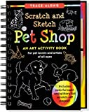 Pet Shop Scratch and Sketch (Art, Activity Kit), Lee Nemmers, 1441314180