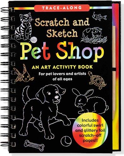 Pet Shop Scratch and Sketch -