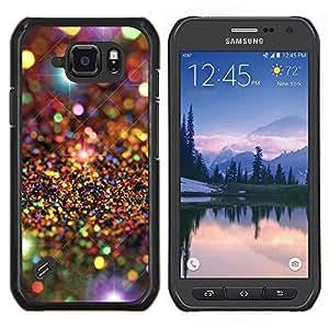 LECELL--Funda protectora / Cubierta / Piel For Samsung Galaxy S6Active Active G890A -- Universo Modelo de estrellas de lujo --
