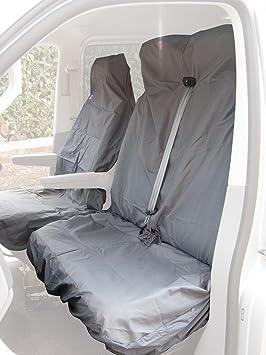 MITSUBISHI L300 Waterproof Black Nylon Van SEAT COVERS