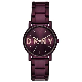 b2e1670efca4 DKNY Reloj Analógico para Mujer de Cuarzo con Correa en Acero Inoxidable  NY2766  Amazon.es  Relojes