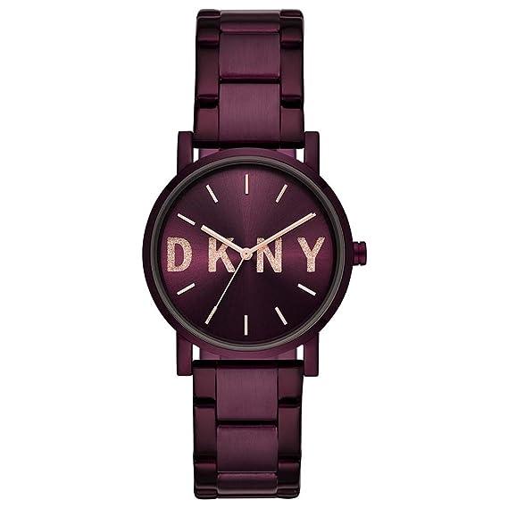 DKNY Reloj Analógico para Mujer de Cuarzo con Correa en Acero Inoxidable NY2766: Amazon.es: Relojes