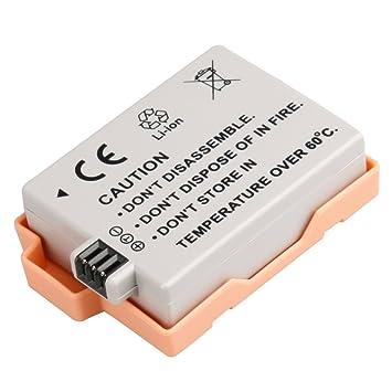 LP-E5 recargable de litio-ión batería para Canon LP-E5 EOS ...