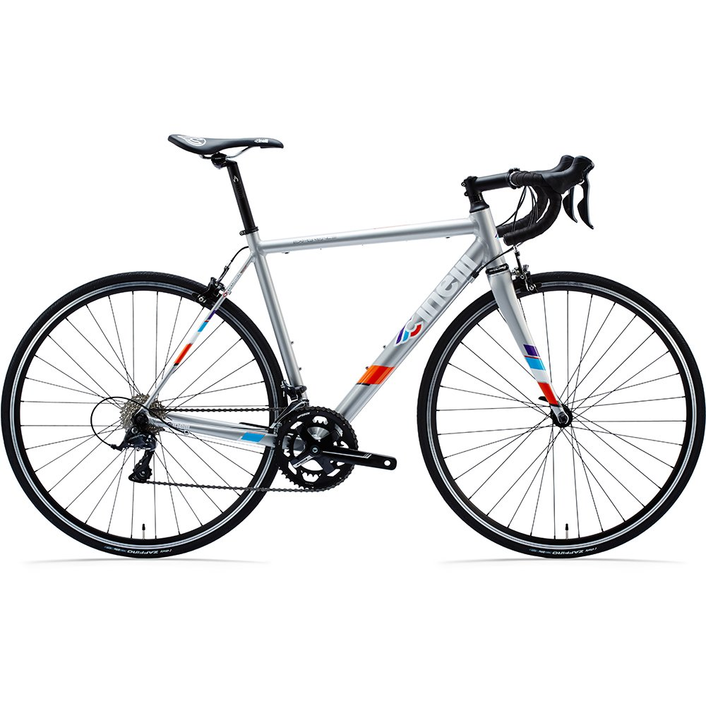 Cinelli Experience / Sora Completeロードバイク – グレーSML B06XN5GCTP