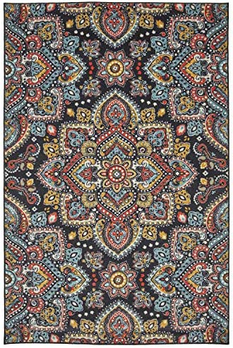 Mohawk Mandala Area Rug, 8 x10 , Multicolored