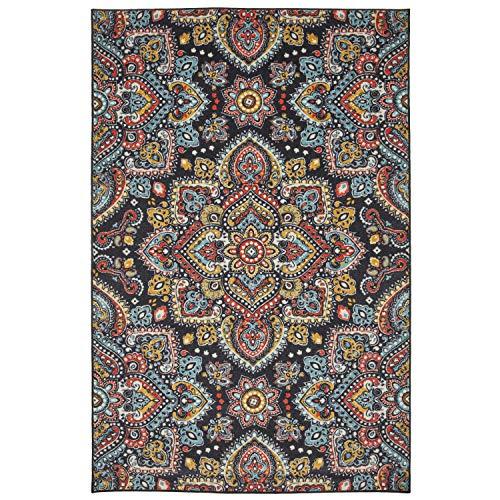 Mohawk Mandala Area Rug, 5 x8 , Multicolored
