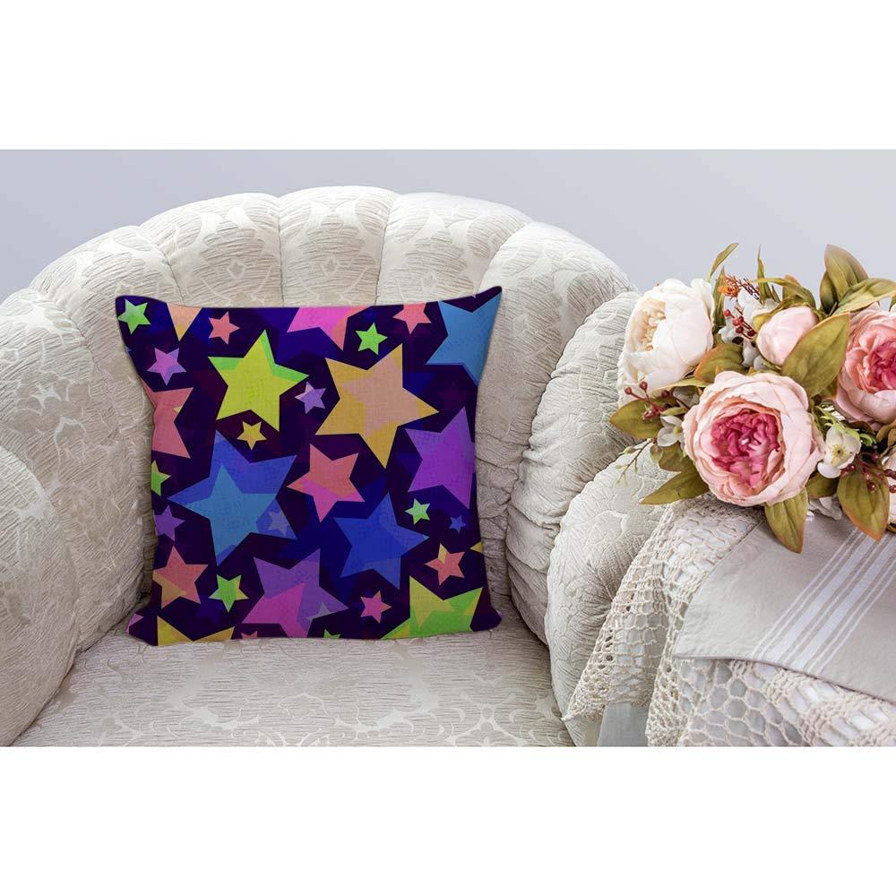 HGOD DESIGNS Zebra Square Pillow Cushion Cover,Love Splash Watercolor Zebras Kiss Cotton Linen Cushion Covers Home Decorative Throw Pillowcases 18x18inch