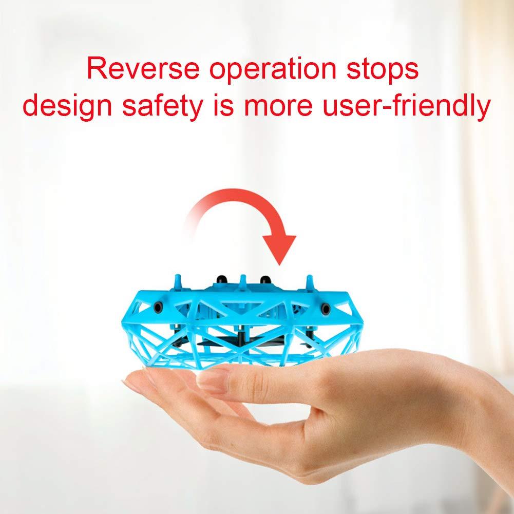 USB Recargable para avi/ón Volador con 2 Modos de Velocidad e indicador LED GCDN Mini Drone para ni/ños y Adultos Drone controlado a Mano Juguetes voladores para ni/ños//ni/ñas detecci/ón de Gestos