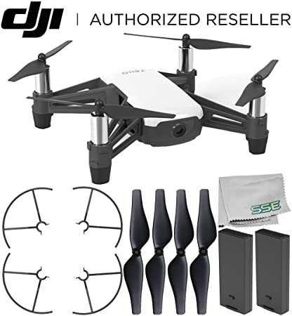 Ryze Tello Quadcopter Drone with HD Camera and VR - Powered by DJI  Technology and Intel Processor Essentials Bundle