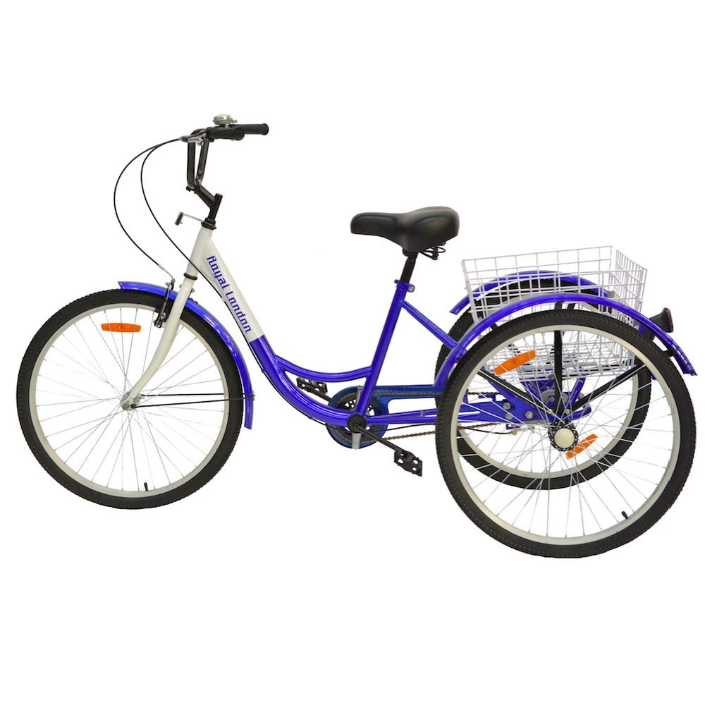 Amazon Com Royal London Adult Tricycle 3 Wheeled Trike Bicycle W