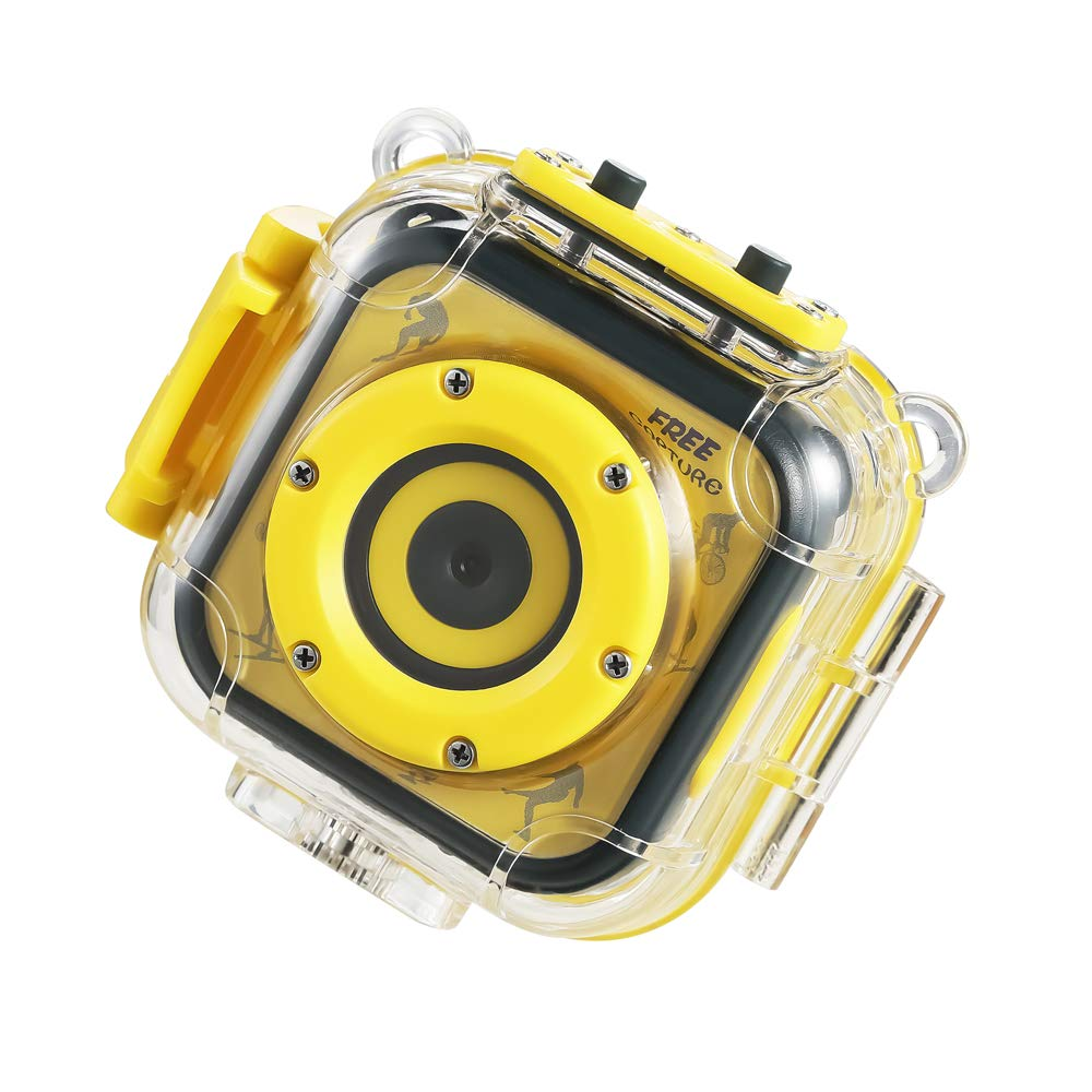 KODEE Kids Sports Waterproof Camera Action Video Digital Camera 1080 HD Camcorder for Girls Boys Toys Gifts Build-in Game by KODEE (Image #5)