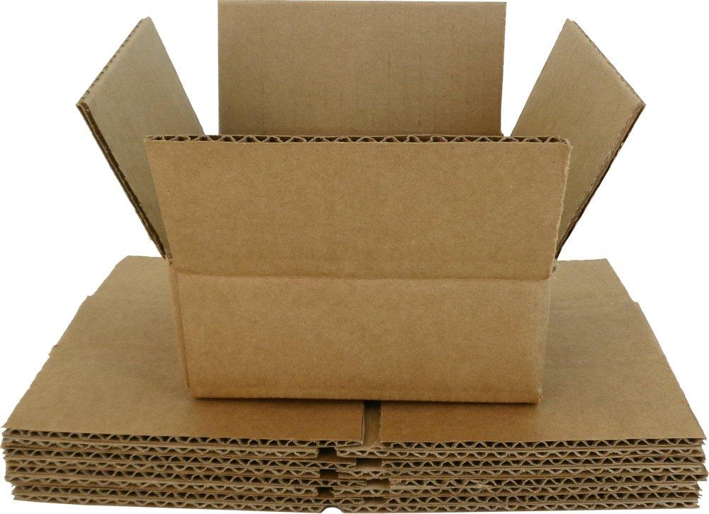 (5) marrón cartón cajas de transporte de almacenamiento de CD - cada uno tiene 5 CD - cdbc05: Amazon.es: Oficina y papelería