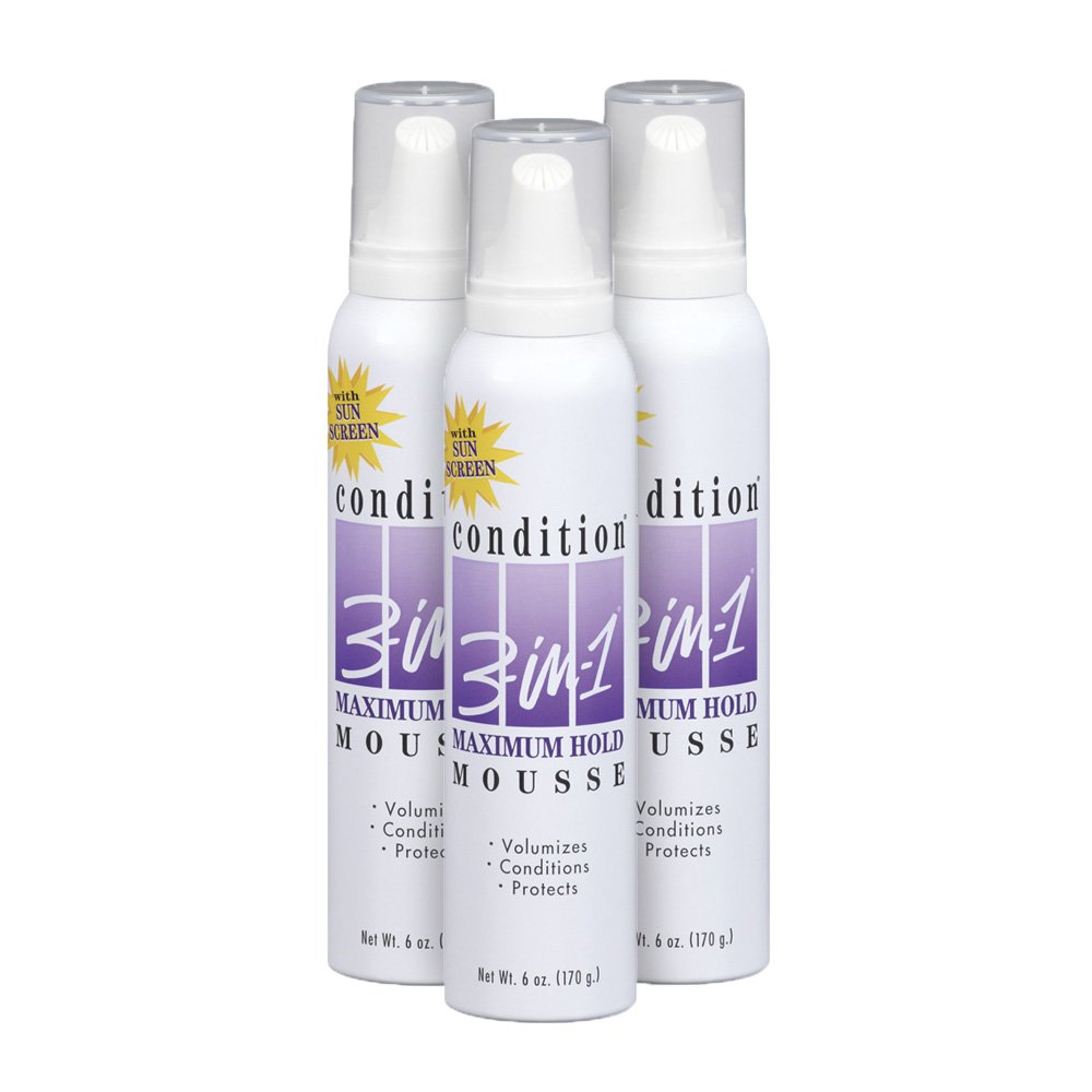 condition 3 in 1 extra hold unscented hairspray 7 ounce pack of 3 beauty. Black Bedroom Furniture Sets. Home Design Ideas