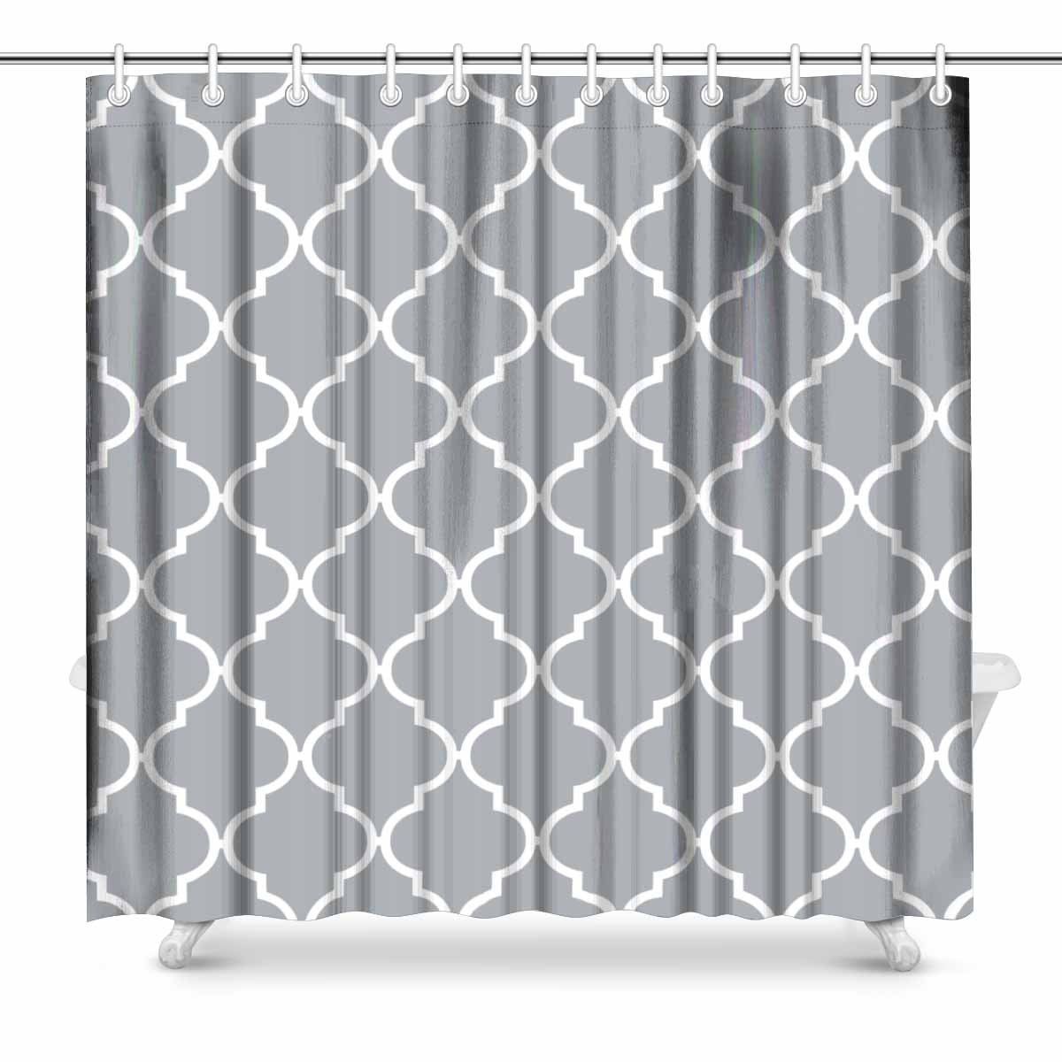 Amazon.com: InterestPrint Black and White Houndstooth in Patchwork ...