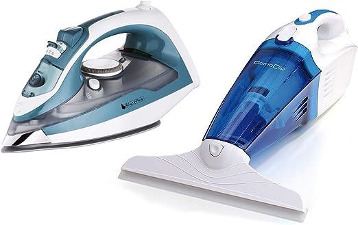 Plancha 1800 W + limpiador cristal aspirador 3 en 1: Amazon.es: Hogar