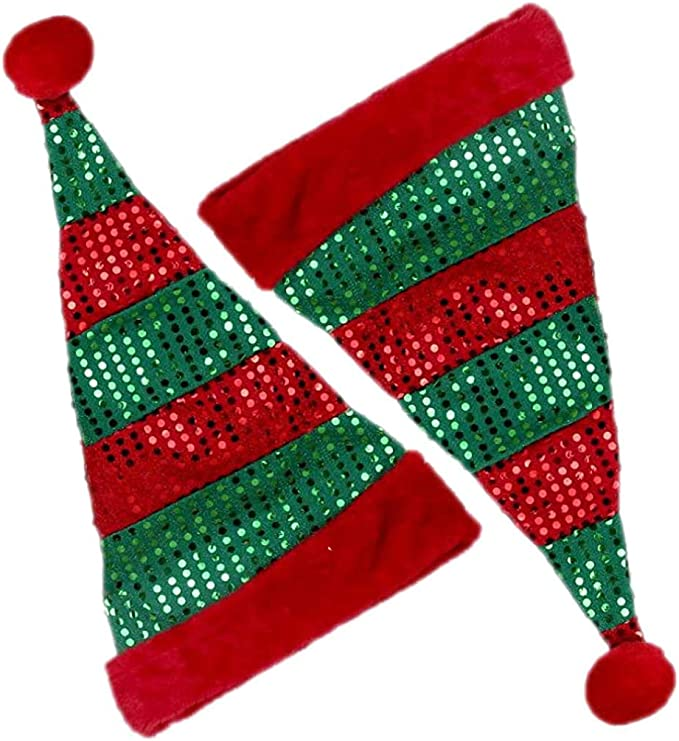 Christmas Children Scarf Winter Parent-Child Scarf Party Scarf Men Women Christmax Sante Scarf for Holiday Decoration