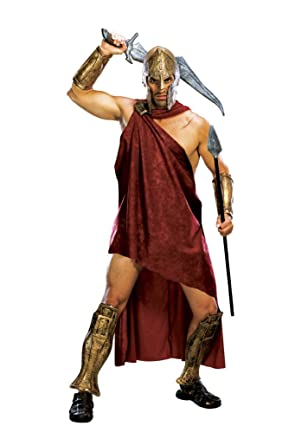 Deluxe Spartan Costume X-Large  sc 1 st  Amazon.com & Amazon.com: 300 The Movie Deluxe Spartan Costume: Clothing