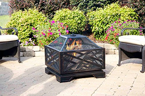 Pleasant-Hearth-Martin-Extra-Deep-Wood-Burning-Fire-Pit-26-Inch